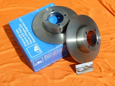 Brake discs orig. ATE, top quality