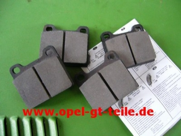 Front brake pads GT 1900