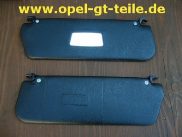 Sun visor right and left, black, new