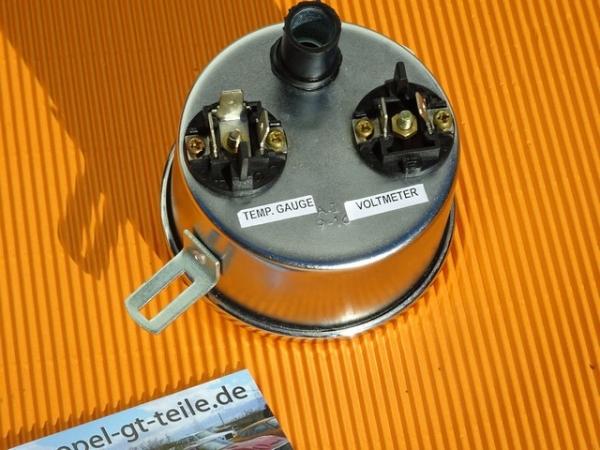 opel gt ltemperatur und voltmeter opel gt. Black Bedroom Furniture Sets. Home Design Ideas