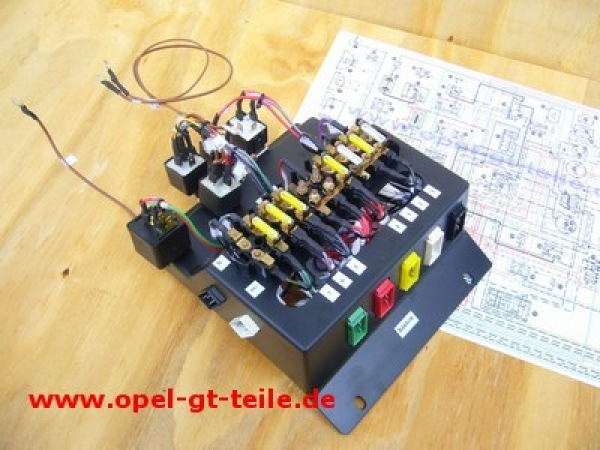 Fuse Box Including Relais And Cable Set New: Opel Gt Fuse Box At Sewuka.co